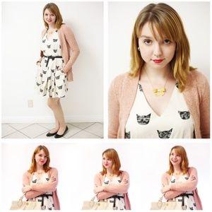 Anthropologie Leah Reena Goren Cat Dress